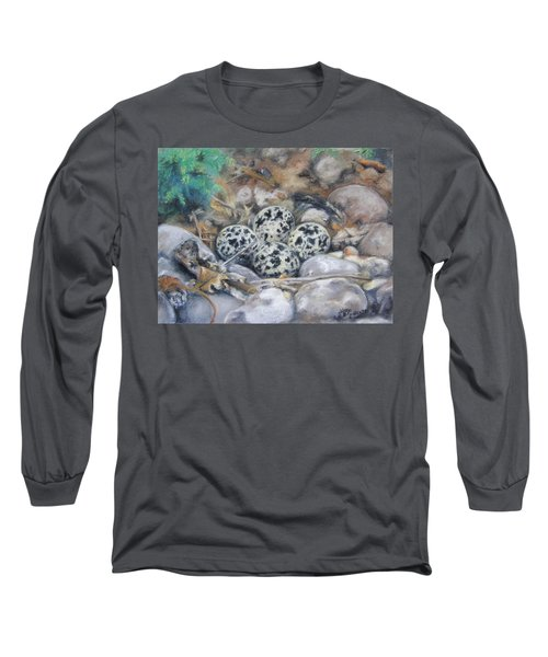 Killdeer Nest Long Sleeve T-Shirt
