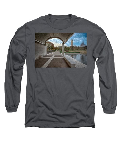Kimbell Art Museum Fort Worth Long Sleeve T-Shirt