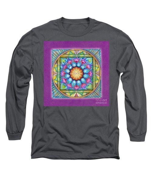 Kindness Mandala Long Sleeve T-Shirt