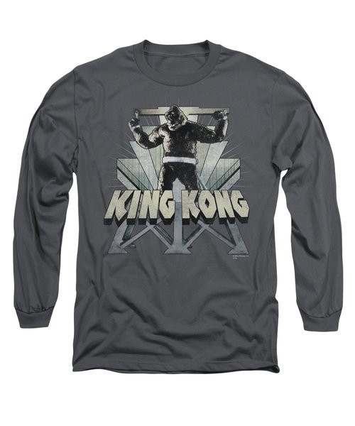 King Kong - 8th Wonder Long Sleeve T-Shirt by Brand A