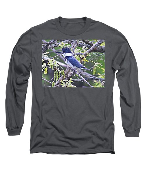 Long Sleeve T-Shirt featuring the photograph King Of The Tree by Elizabeth Winter