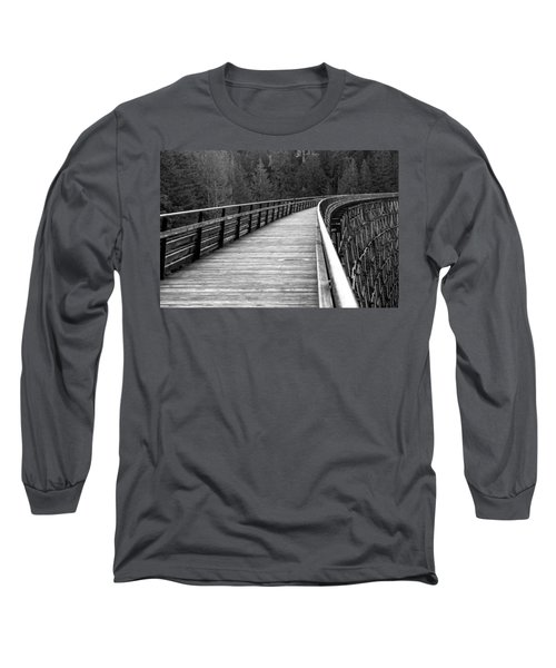 Kinsol Trestle Boardwalk  Long Sleeve T-Shirt