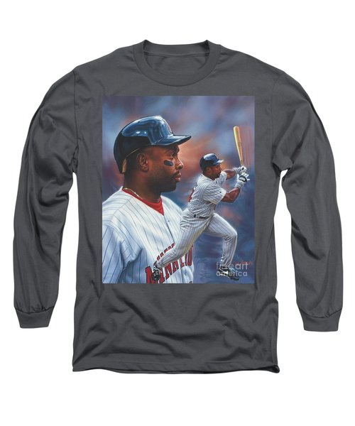 Kirby Puckett Minnesota Twins Long Sleeve T-Shirt