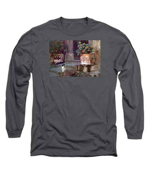 Kitten Italiano Long Sleeve T-Shirt