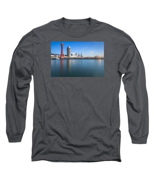 Kobe Port Island Tower Long Sleeve T-Shirt