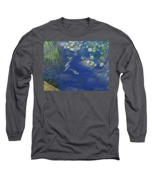 Koi At Red Butte Gardens Long Sleeve T-Shirt