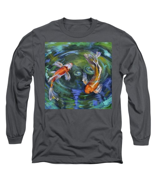 Koi Swirl Long Sleeve T-Shirt