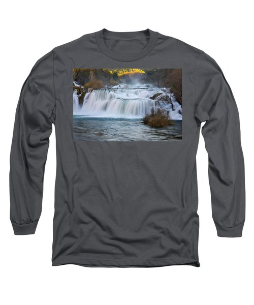 Krka Waterfalls Long Sleeve T-Shirt
