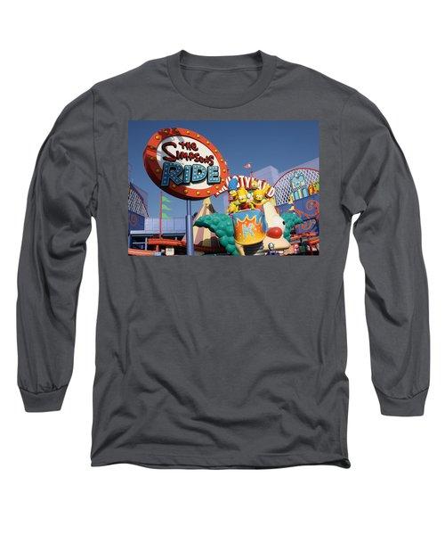 Krusty Long Sleeve T-Shirt