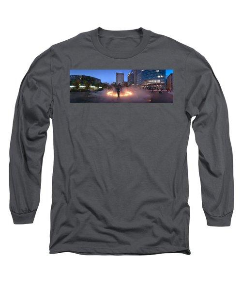 La Joute By Jean-paul Riopelle Long Sleeve T-Shirt