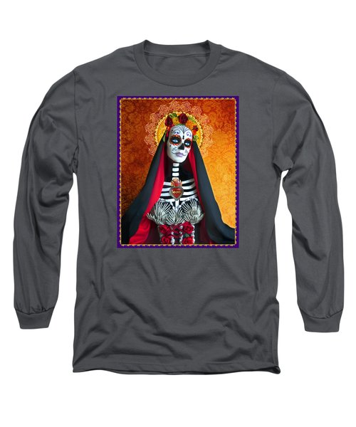 La Muerte Long Sleeve T-Shirt by Tammy Wetzel