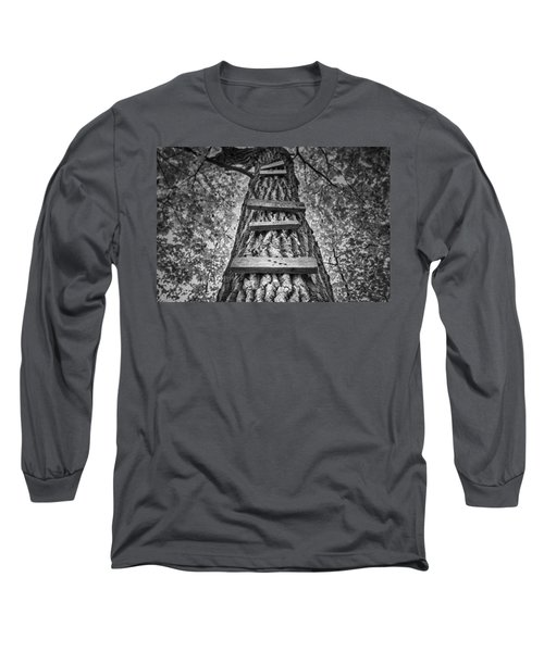 Ladder To The Treehouse Long Sleeve T-Shirt
