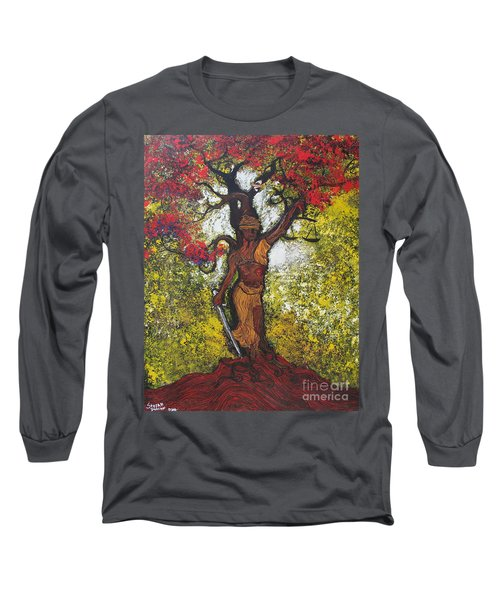 Lady Of Justice Long Sleeve T-Shirt