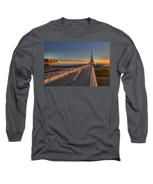 Lake Front View Long Sleeve T-Shirt
