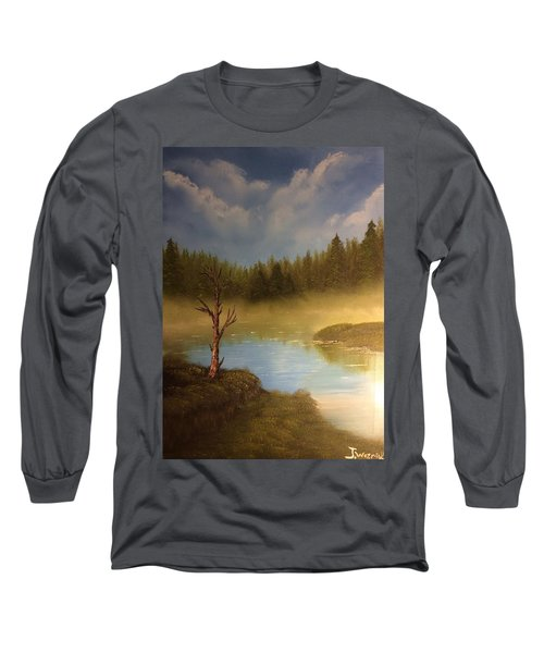 Lake In The Woods  Long Sleeve T-Shirt
