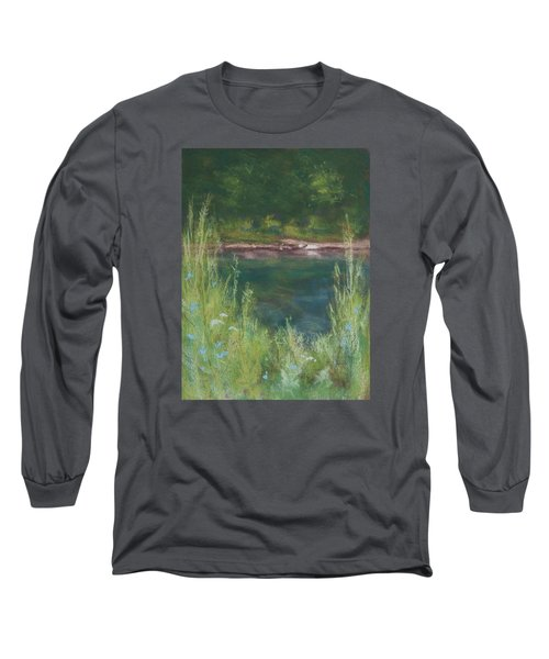 Lake Medina Long Sleeve T-Shirt by Lee Beuther