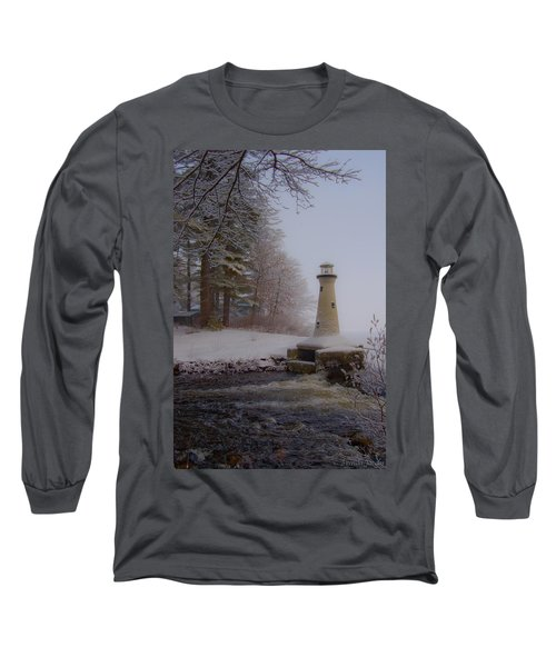 Lake Potanipo Lighthouse Long Sleeve T-Shirt