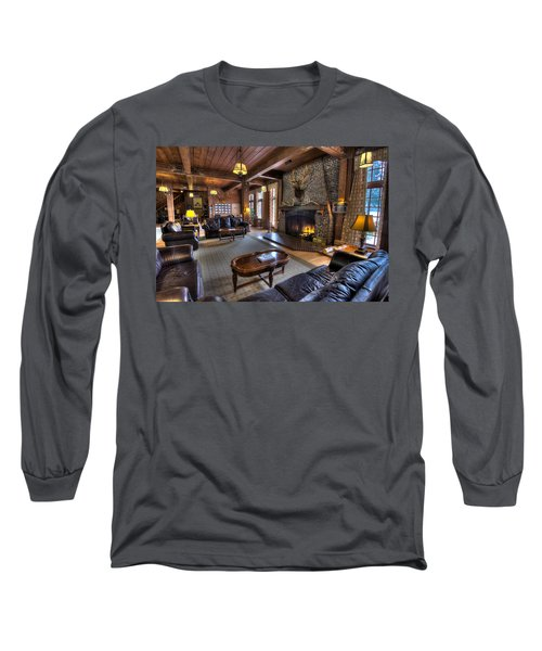 Lake Quinault Lodge Olympic National Park Long Sleeve T-Shirt