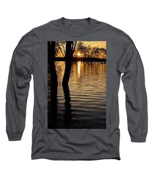 Lake Silhouettes Long Sleeve T-Shirt