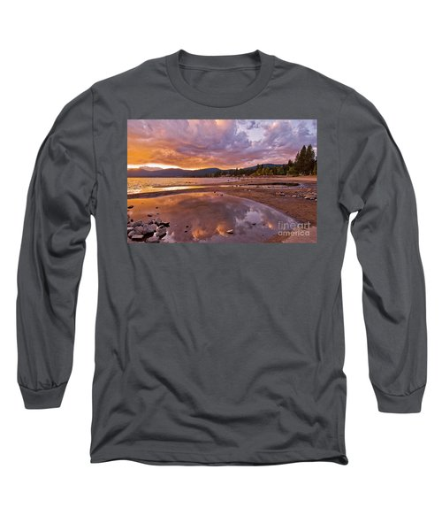 Long Sleeve T-Shirt featuring the photograph Lake Tahoe by Mae Wertz