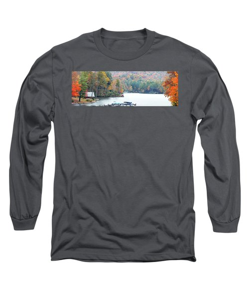 Lake Toxaway In The Fall Long Sleeve T-Shirt