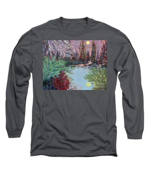 Lake Tranquility Long Sleeve T-Shirt