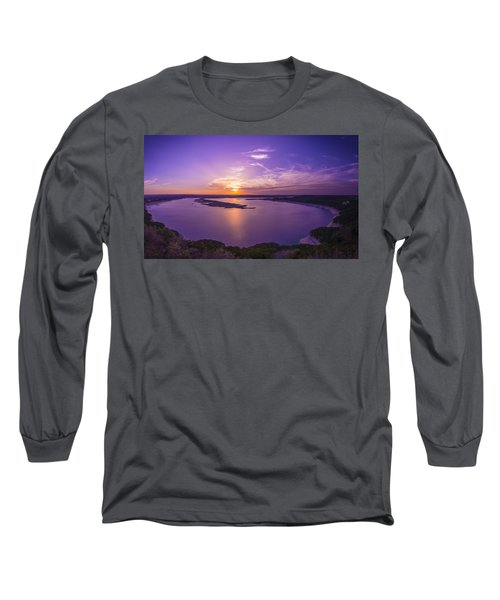 Lake Travis Sunset Long Sleeve T-Shirt