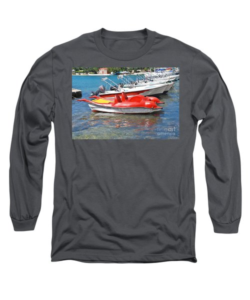 Lakka Harbour Paxos Long Sleeve T-Shirt