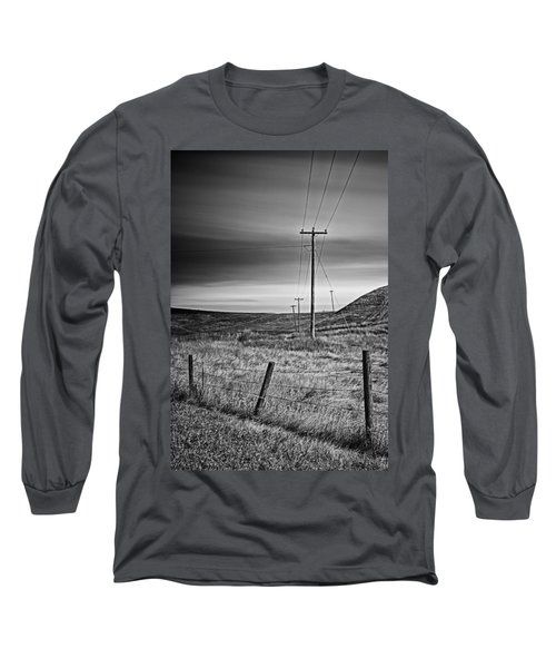Land Line Long Sleeve T-Shirt