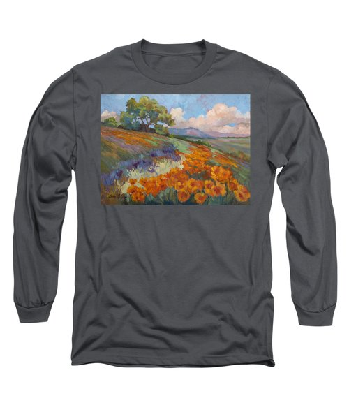 Land Of Sunshine Long Sleeve T-Shirt by Diane McClary
