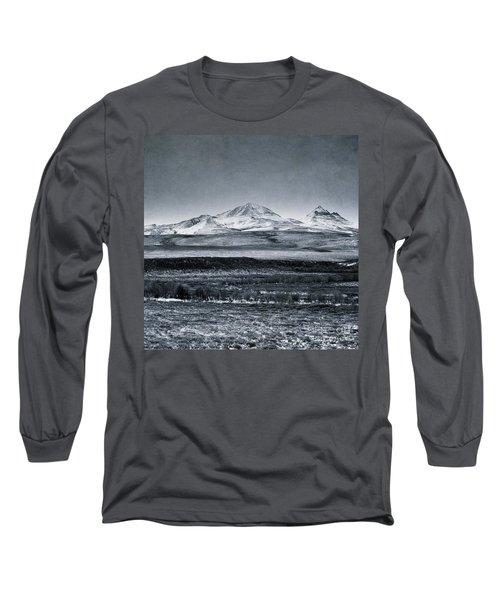 Land Shapes 7 Long Sleeve T-Shirt