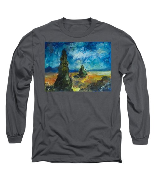 Emerald Spires Long Sleeve T-Shirt