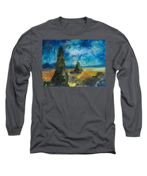 Emerald Spires Long Sleeve T-Shirt