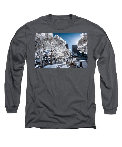 Las Vegas Strip In Infrared 1 Long Sleeve T-Shirt