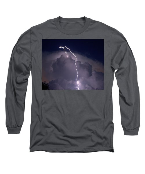 Long Sleeve T-Shirt featuring the photograph Lashing Out by Charlotte Schafer