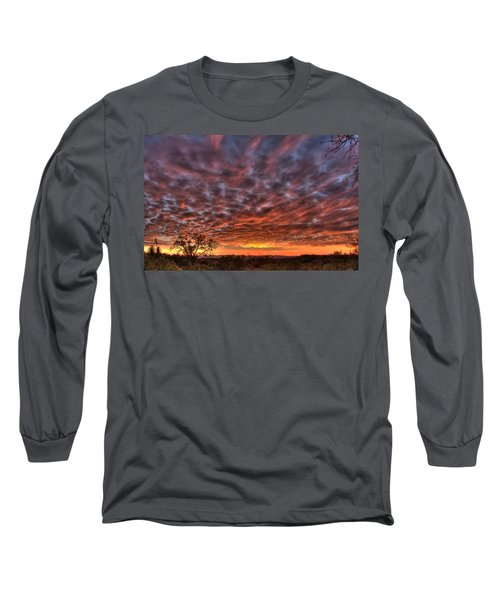 Last Light In Oracle Long Sleeve T-Shirt by Tam Ryan