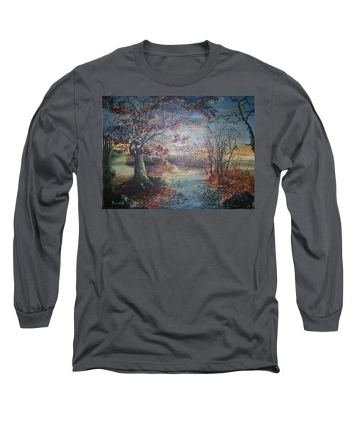 Late Fall Long Sleeve T-Shirt by Peter Suhocke