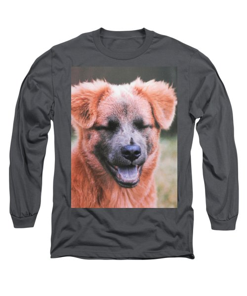 Laughing Dog Long Sleeve T-Shirt