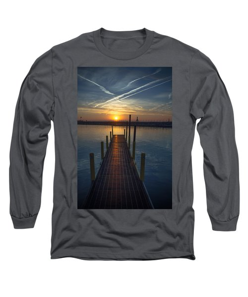 Launch A New Day Long Sleeve T-Shirt