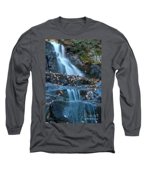 Long Sleeve T-Shirt featuring the photograph Laurel Falls by Patrick Shupert