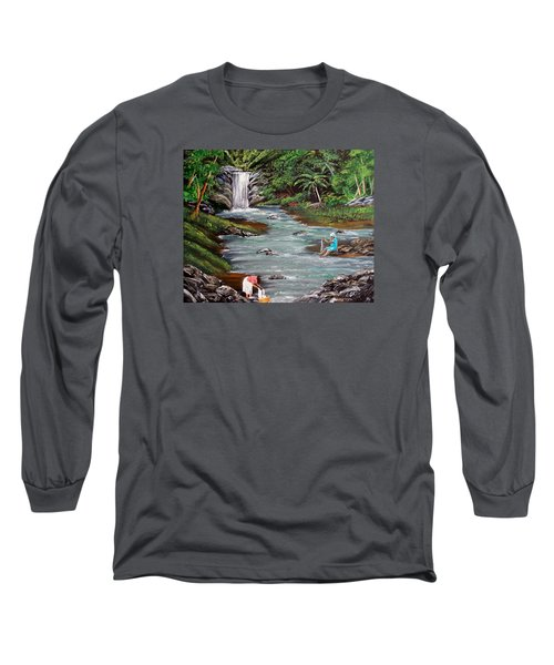 Lavando Ropa Long Sleeve T-Shirt