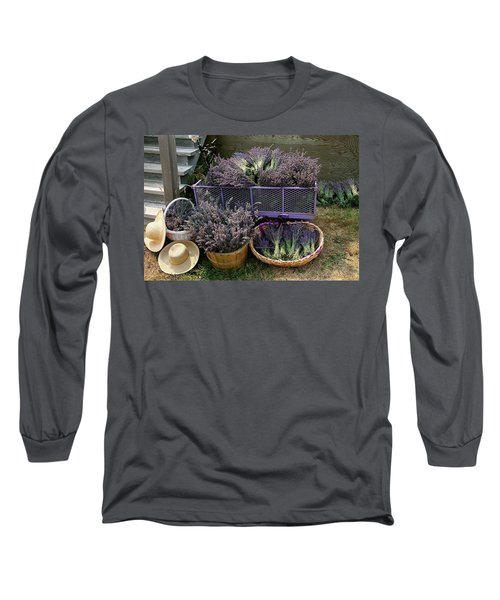 Lavender Harvest Long Sleeve T-Shirt