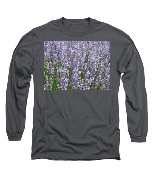 Long Sleeve T-Shirt featuring the photograph Lavender Hues by Pema Hou
