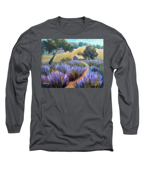 Lavender Path Long Sleeve T-Shirt