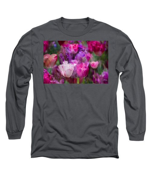 Layers Of Tulips Long Sleeve T-Shirt