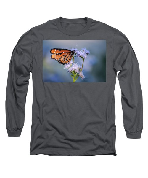 8x10 Metal - Queen Butterfly Long Sleeve T-Shirt by Tam Ryan