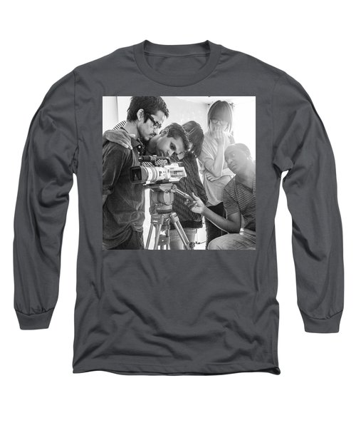 Learning Video Production In India On Long Sleeve T-Shirt