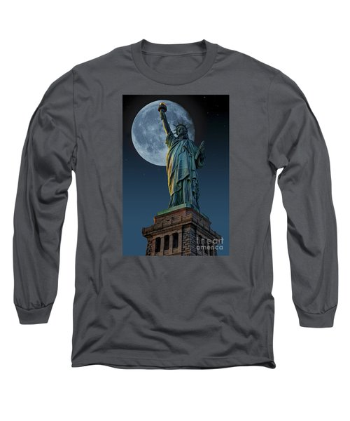 Liberty Moon Long Sleeve T-Shirt