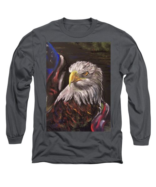 American Pride Long Sleeve T-Shirt by Peter Suhocke