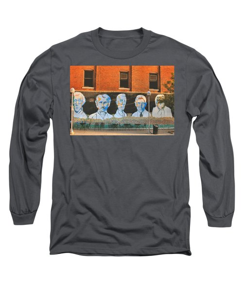 Liberty Street Mural Long Sleeve T-Shirt